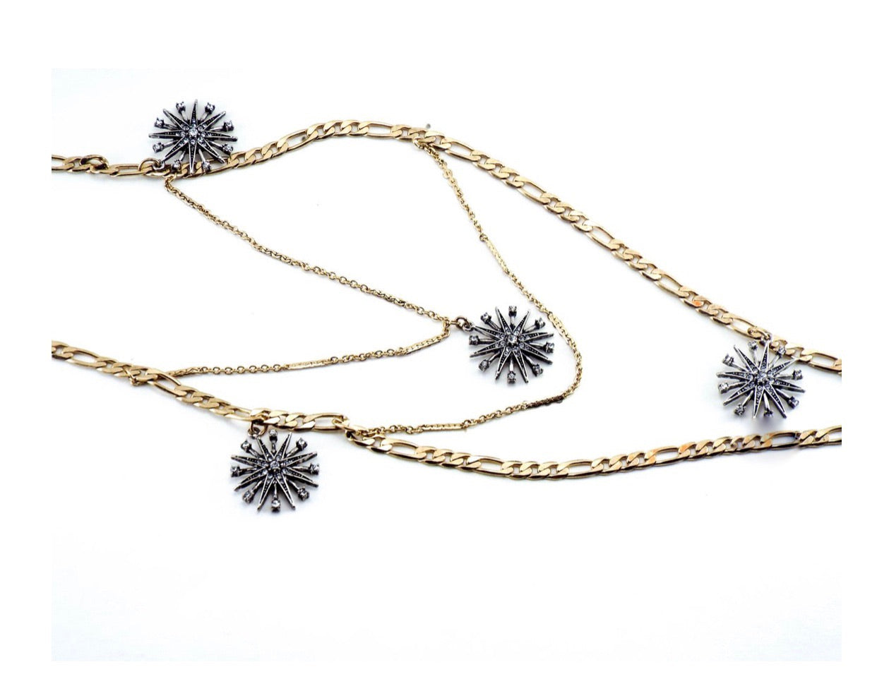 FIVE SUNS necklace