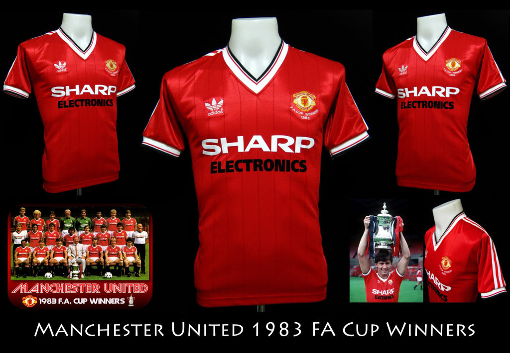 Manchester United 1983 FA Cup Winners Shirt