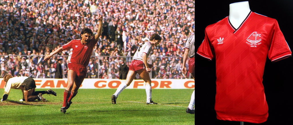 Aberdeen 1986 Scottish FA Cup Final Shirt