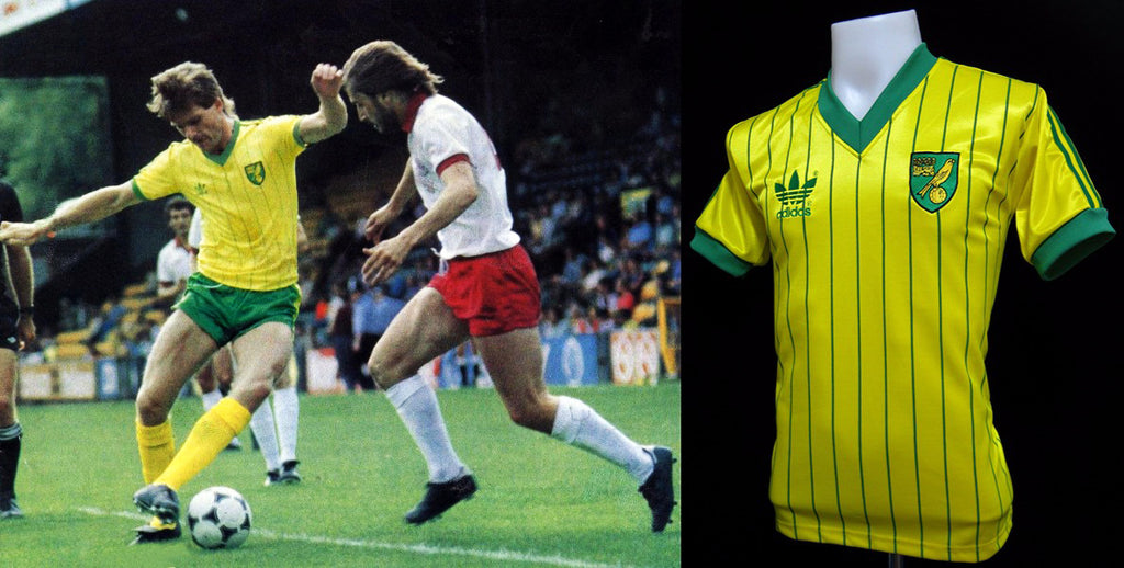 Norwich City 1982 – 1983 Home Shirt