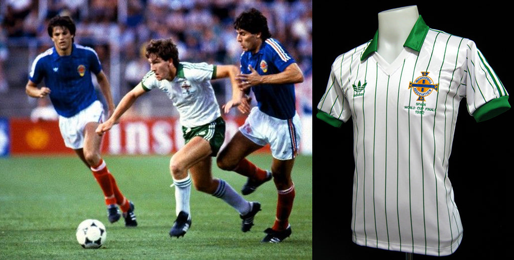 Northern Ireland 1982 World Cup Away Shirt