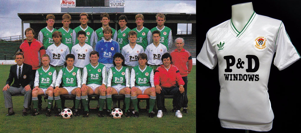 Hibernian 1987 - 88 Away Shirt