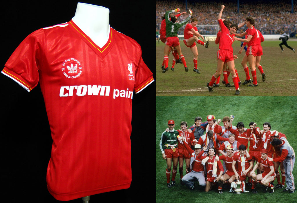 Liverpool 1986 Double Winners