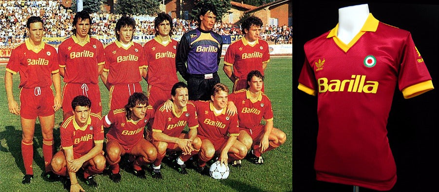 AS Roma 1991 - 1992 Home Shirt