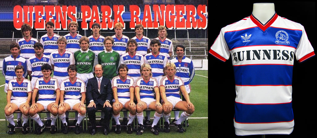 Queens Park Rangers Home Shirt 1985-1986