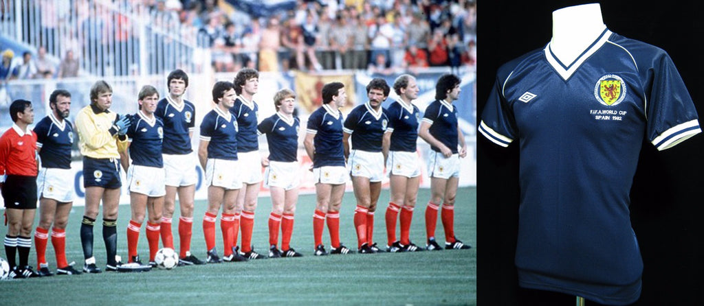 Scotland 1982 World Cup Home Shirt