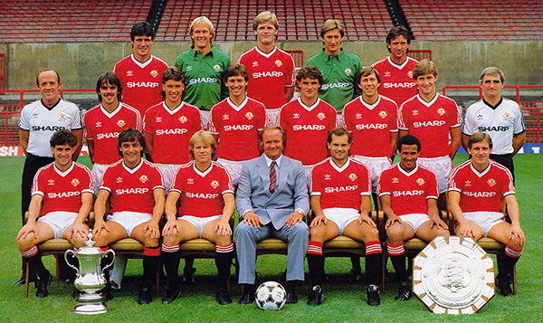 Uniteds Summer Of 1983 Was One To Remember As They Comfortably Beat Liverpool At Wembley Lift The Charity Shield Final Score 2 0 In Favour