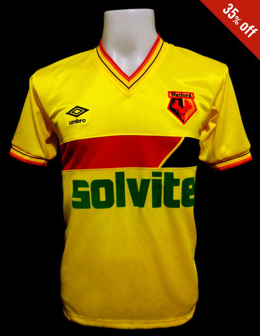 Watford 1985-87 Home Shirt
