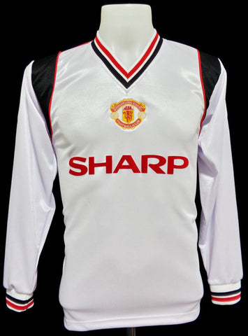 Manchester United 1984-86 Away Long Sleeved Shirt