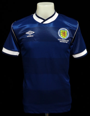 Scotland 1986 World Cup Home Shirt