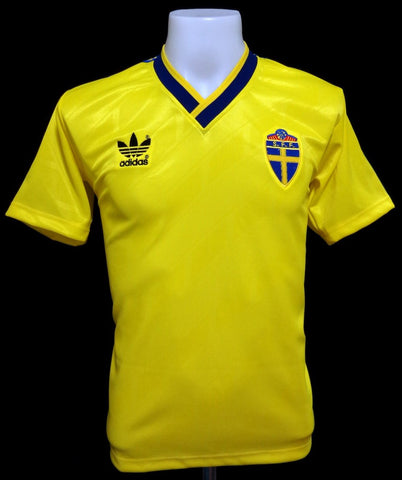 Sweden 1988-90 Home Shirt