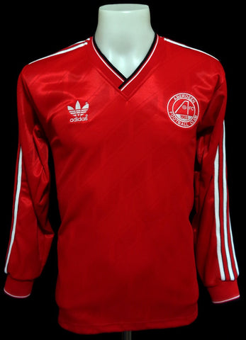 Aberdeen 1986-87 Home Long Sleeved Shirt