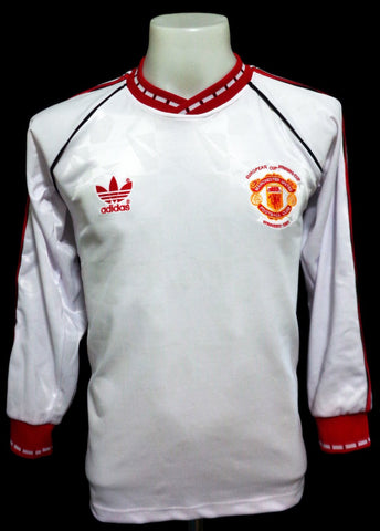 Manchester United 1991 ECWC Winners LS Shirt