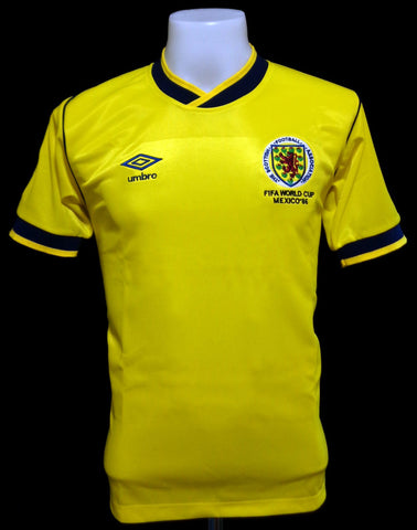 Scotland 1986 World Cup Away Shirt