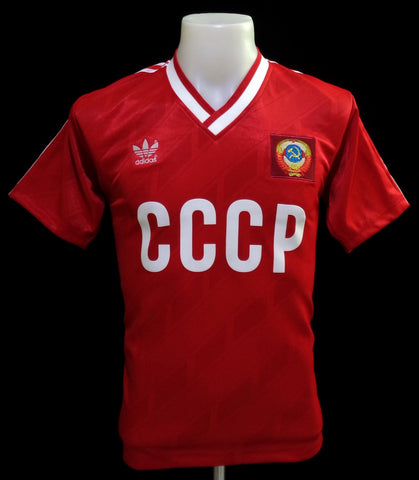 Russia CCCP 1986 World Cup Home Shirt