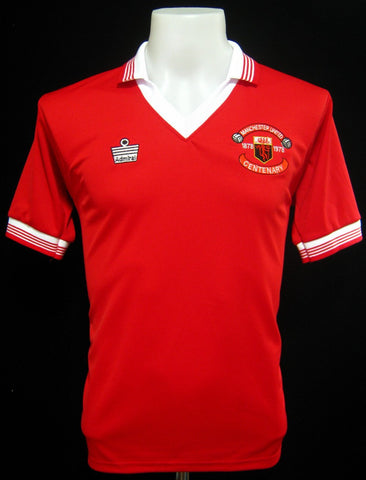 Manchester United 1978-79 Centenary Home Shirt