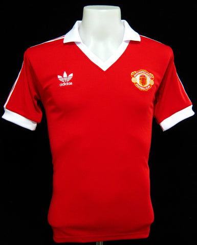 Manchester United 1980-82 Home Shirt