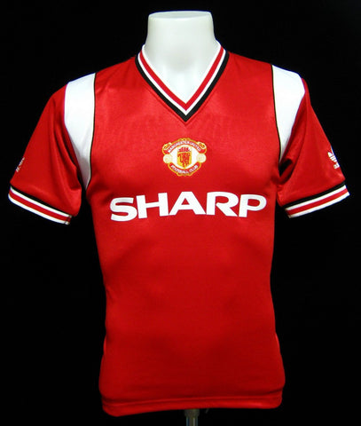 Manchester United 1984-86 Home Shirt