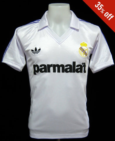 Real Madrid 1985-86 Home Shirt