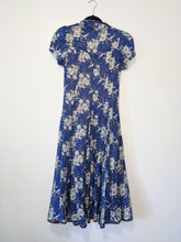Load image into Gallery viewer, Cotton blend prairie dress - Small