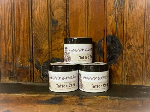 2oz Happy Ganesh Tattoo Care