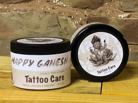 8oz Happy Ganesh Tattoo Care