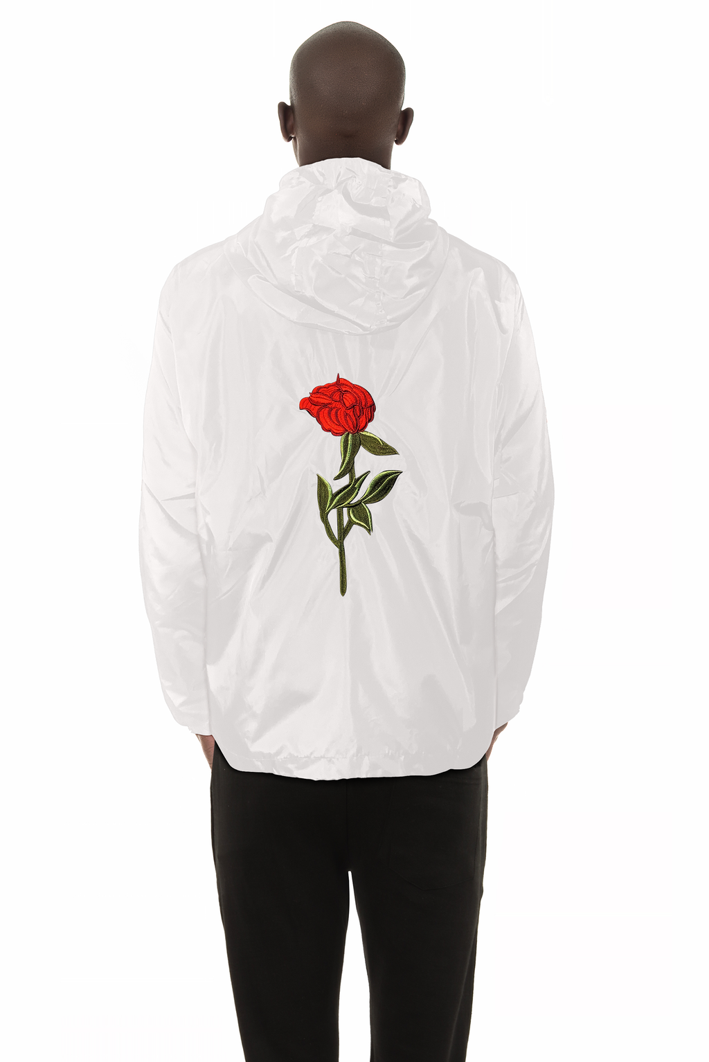 White Rose Windbreaker
