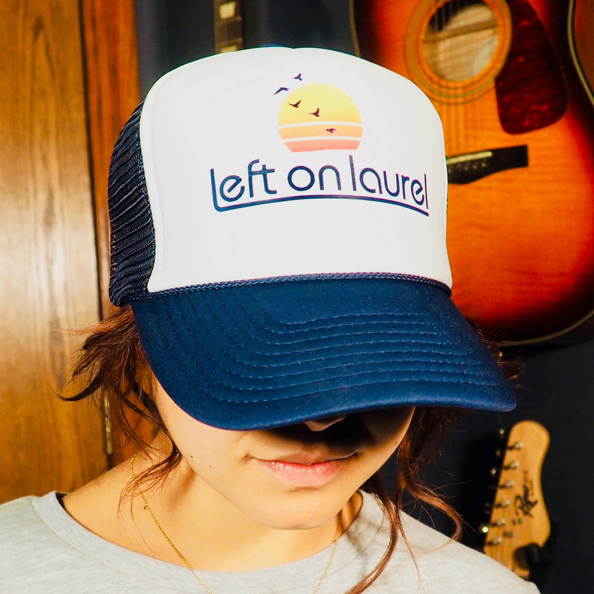 Left on Laurel Trucker Hat