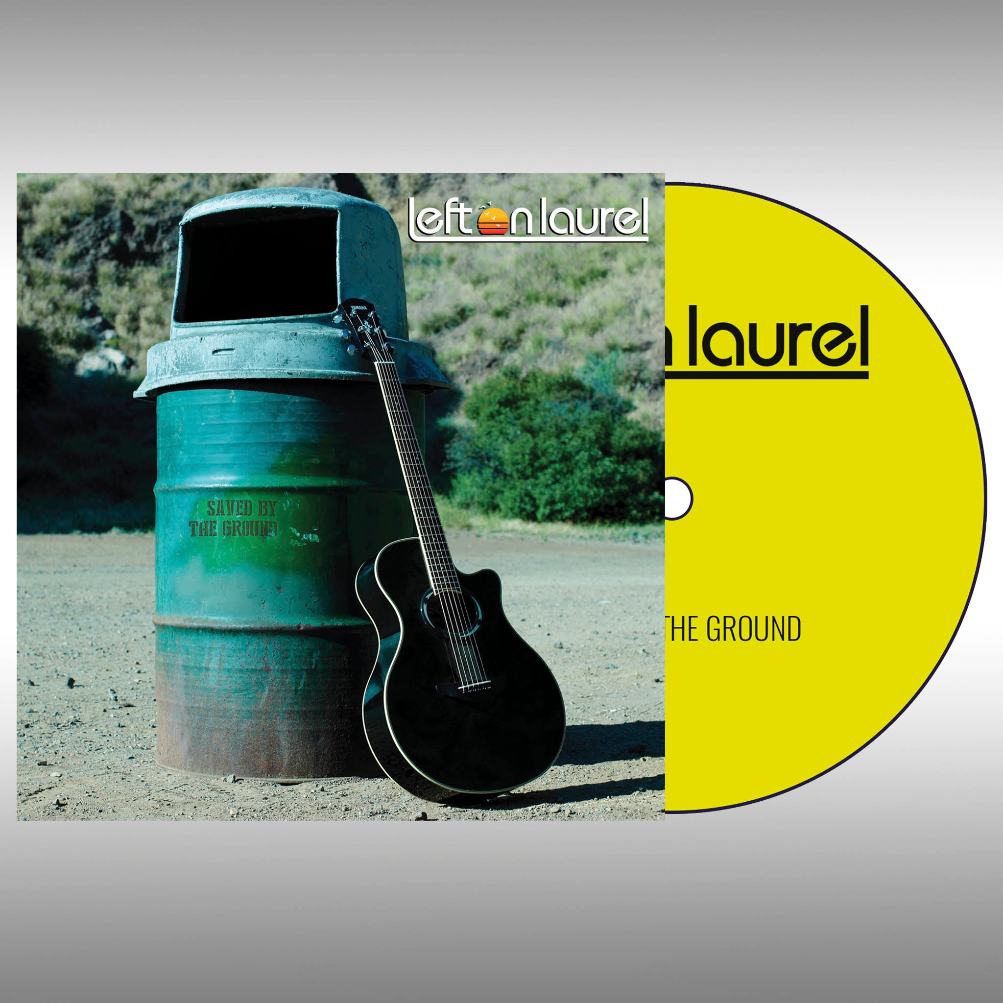 (Pre-order) AUTOGRAPHED Left on Laurel CD