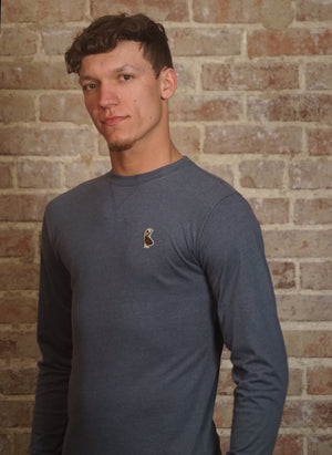 Long Sleeve Sueded Jersey