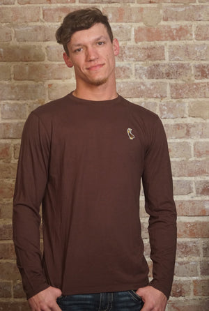 Long Sleeve Bamboo Crew Neck