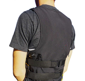 MotionHeat Heated Vest - Back View