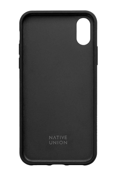 Native Union Clic Marquetry iPhone Case - Black - Dreamers Circle
