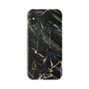 Black Gold Marble Glossy iPhone Case - Dreamers Circle