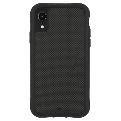 Case-Mate Carbon Fibre Case for Apple iPhone XR in Black - Dreamers Circle