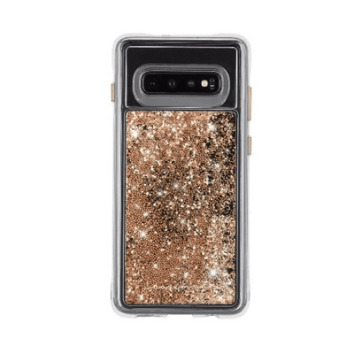 Case-Mate Naked Tough Waterfall Case for Samsung Galaxy S10 in Gold