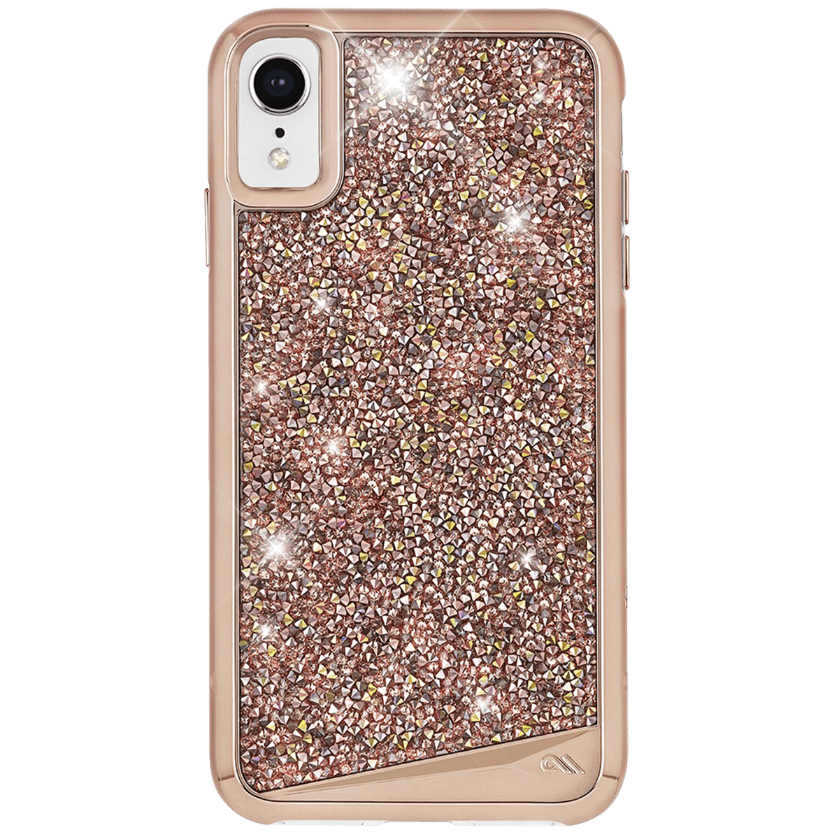 Case-Mate Brilliance Case for Apple iPhone XR in Rose Gold