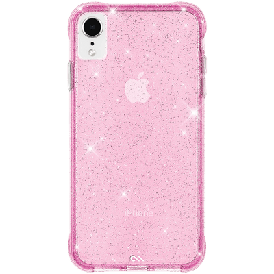 Case-Mate Sheer Crystal Case for Apple iPhone XR in Blush - Dreamers Circle