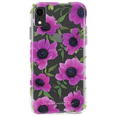 Case-Mate Wallpapers Case for Apple iPhone XR in Pink Poppy - Dreamers Circle