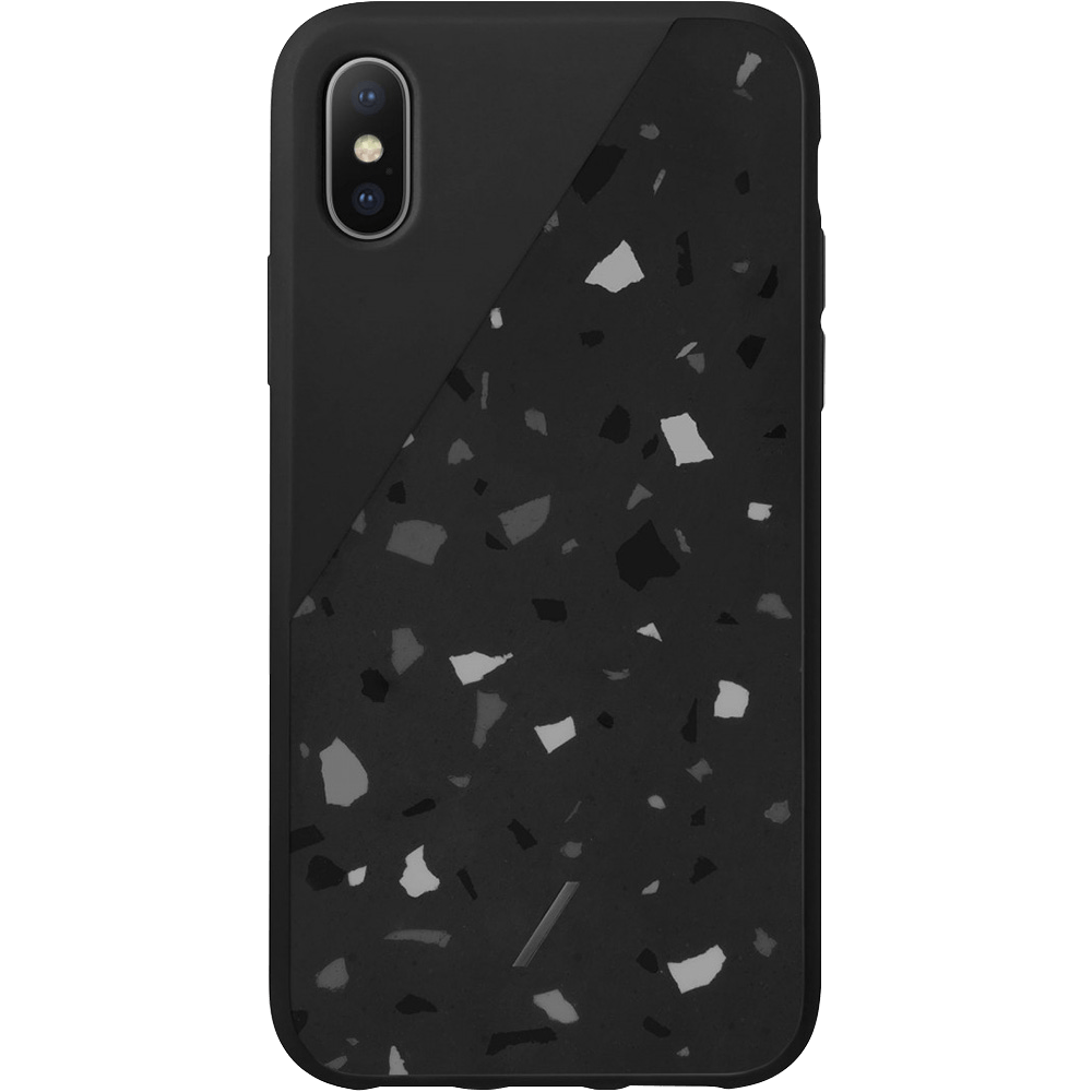 best sneakers 2ccc0 5796a Native Union Clic Terrazzo iPhone Case - Black