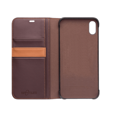Sp8tium iPhone Xs Max Leather Wallet Case - Dreamers Circle