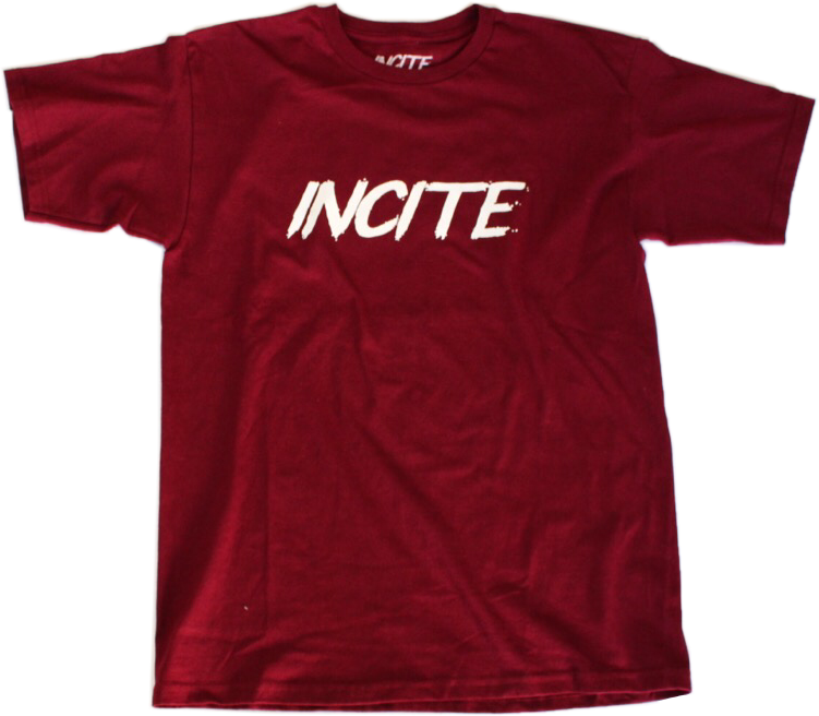 Incite Burgundy Short Sleeve