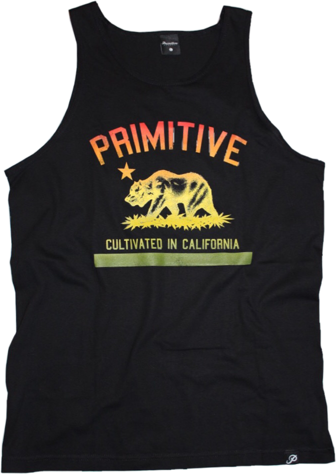 "Primitive ""Cultivate in California"" Tank Top"
