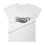 Tanner's Ladies Tee Black Logo