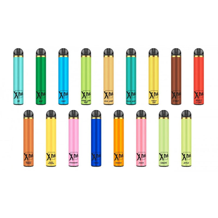 XTRA PUFF DISPOSABLE DEVICE- $13.95 Each - The Smokers World