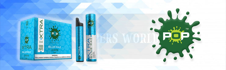 POP XTRA DISPOSABLE DEVICE VAPE - The Smokers World