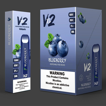 V2 XL DISPOSABLE - 1600 PUFFS - The Smokers World