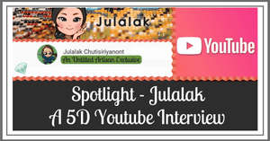 An Interview With Julalak Chutisiriyanont