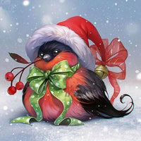 Festive Feathered - 5D Diamond Painting - 5D Diamond Painting - DIY Kits