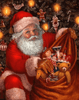Santa With His Gifts - 5D Diamond Painting - 5D Diamond Painting - DIY Kits